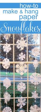 Step-by-step photo tutorial and patterns, plus a simple way to hang paper  snowflakes in a window. DIY Holiday Decorations We know how to snip paper  ...