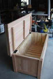 outdoor waterproof storage bench from this to a storage bench woodworking