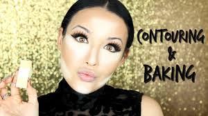 cream contour highlight baking makeup tutorial tips tricks you