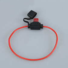 popular inline fuse holder waterproof buy cheap inline fuse holder In Line Fuse Box 2pcs automobile motorcycle waterproof rubber inline fuse box holder with cable and small 5a fuse atc in line fuse box