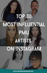 top 30 most influential pmu artists on insram