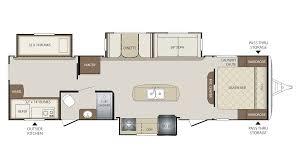 Bhs Bathroom Storage 2018 Keystone Bullet 311bhs Floor Plan Travel Trailer