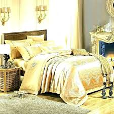 silver and gold bedding metallic comforter sets dot luxury rose