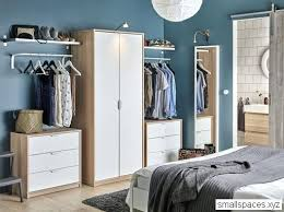 Design Your Bedroom Ikea A Bedroom With A Wardrobe In Oak Effect With White  Doors Combined With Two Chest Of Small Bedroom Design Ideas Ikea