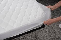 fitted mattress protector. Sleepwell Dual Control Heated Pure Cotton Quilted Fully Fitted Mattress Cover Protector E