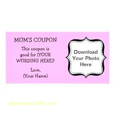 Personalized Coupon Book Template Arttion Co