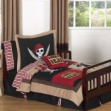 pirate trere cove 5 piece toddler bedding set