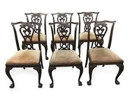 chippendale dining chairs. Image Is Loading Vintage-Italian-Chippendale-dining-chairs-Set-of-Six Chippendale Dining Chairs