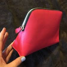 macy s bags macy s hot pink makeup bag gently used