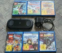 Sony Playstation PS Vita Slim mit 6 Spielen Lego Movie, Ninjago in Bayern -  Regensburg | Playstation Konsole gebraucht kaufen