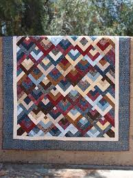 Top Down Quilt Pattern - #429999 ~ easy ~ much simpler than it ... & Top Down Quilt Pattern - ~ easy ~ much simpler than it looks ~ one block  embellished with elegant triangles for a scrappy, blended feeling ~ 5  different ... Adamdwight.com