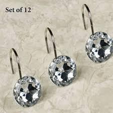 regal shower hooks beige 12 piece set