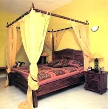 Black Canopy Curtains Large Size Of Bedroom Where To Find Bed Drapes ...