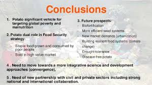 from a poverty lens to a food security lens potatoes to improve glob conclusions 1