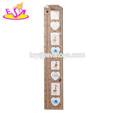China Home Decor Children Growth Wooden Wall Ruler Height