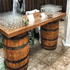 Home / Event Furniture / Mobile Bar / Wine Barrel Bar