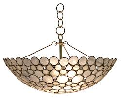 serena bowl chandelier by oly studio in chandeliers