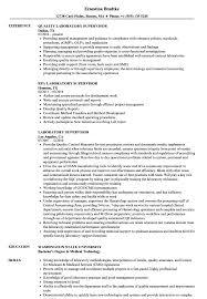 Lab Resume Resume Work Template