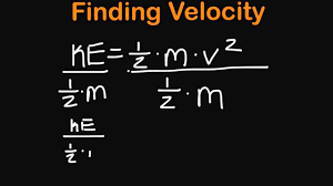 Kinetic Energy Video This Is A Video On How To Calculate An Objects Kinetic Energy And