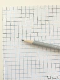 Heart Tessellation On Graph Paper Teach Beside Me