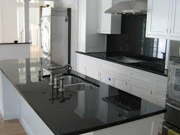 Matte Black Kitchen Cabinets Matte Black Granite Countertops Modern Kitchen