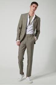 Sage Slim Fit Suit Jacket