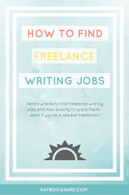 kat boogaard lance writing jobs how and where to them   lance writing jobs large