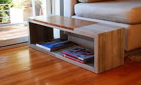 concrete and wood furniture. jeremy concrete and wood furniture
