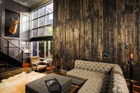 Small Picture Interior The Crisp And Chic Industrial Retro Interior Design In