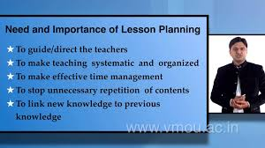 Why Is It Important To Have A Lesson Plan Lesson planning Need and importance YouTube 1