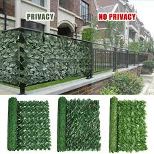 artificial ivy leaf panels green plant