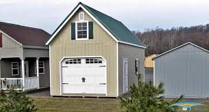 garage roof. a 2 story prefab garage takes few days of onsite labor to complete right wrong the innovators here at horizon structures have come up with an entirely roof