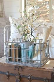 Best 25+ Metal baskets ideas on Pinterest | Baskets for storage, Wire  basket storage and Blanket storage