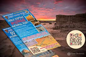 Harry Nanya Mungo National Park Tours Flyer Brand Action