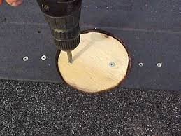 repair hole in roof plywood.  Hole Fastening Plug In Round Hole Roof Sheathing Or Deck On Repair Hole In Roof Plywood O