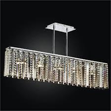linear glass chandelier sonesta 625tm5lsp 7c