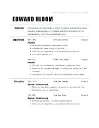 Simple Example Resume Examples Of A Easy Resume Examples Simple