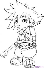 Small Picture 14 Images of Kingdom Hearts Logo Coloring Page Kingdom Hearts