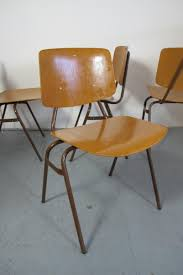 vintage 60s furniture. Vintage Industrial Chairs By Kho Liang Ie For Car, Set Of 4 60s Furniture