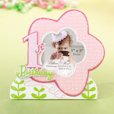 1st birthday frame pink 1st birthday favors supplies other occasions wedding favors party supplies favors and flowers