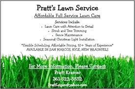 Free Lawn Mowing Flyer Template Lawn Mowing Flyer Template Free For Care Business Sample