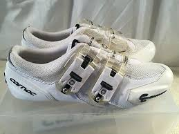 Carnac Shoe Size Chart Carnac Attraction Road Cycling Shoes White Uk Size 11 Eu 45