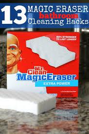 13 magic eraser bathroom cleaning s