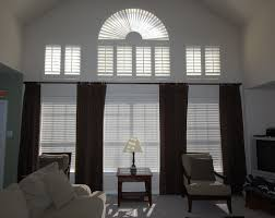 Window Treatments For Large Windows In Living Room Decoration Best Window Treatments For High Windows Radioritas Com