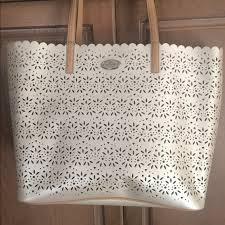 REDUCED Coach lace tote