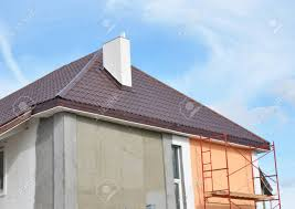 Painting Plastering Stucco Exterior House Wall Facade Thermal