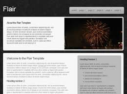 Flair Template Flair Free Website Template Free Css Templates Free Css