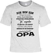 Opa Sprüche Tshirt Cooles Shirt Für Großvater Ich Bin Ein Wangen