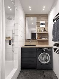 Laundry Room: Beautiful Tiny Laundry Space Decoration - Laundry Spaces