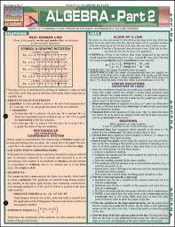 Algebra 2 Quick Study